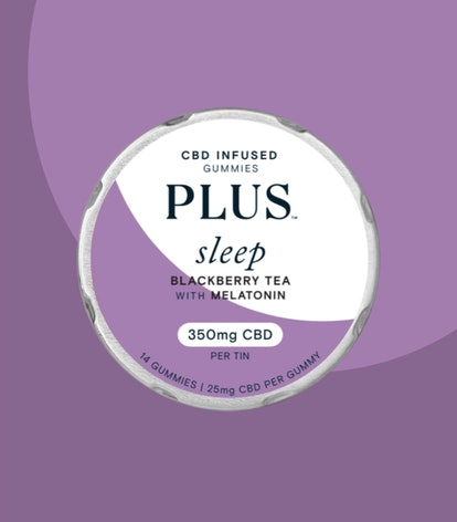 Blackberry Tea With Melatonin Sleep CBD Gummies