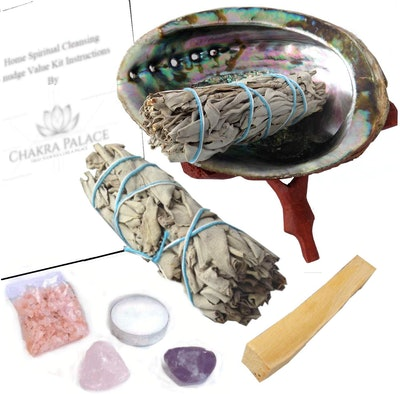 Chakra Palace Large Smudge Kit Gift Set