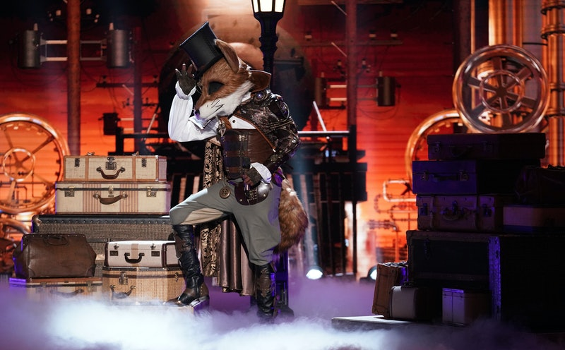 The Fox performs on The Masked Singer