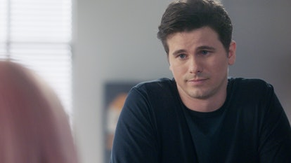 Jason Ritter as Eric on A Million Little Things looking somberly at Maggie