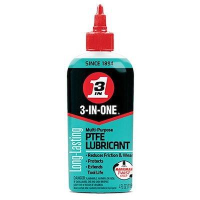 3 In 1 Multi-Purpose Lubricant with PTFE, 4 oz.