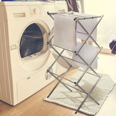 Storage Maniac 3-Tier Folding Anti-Rust Drying Rack