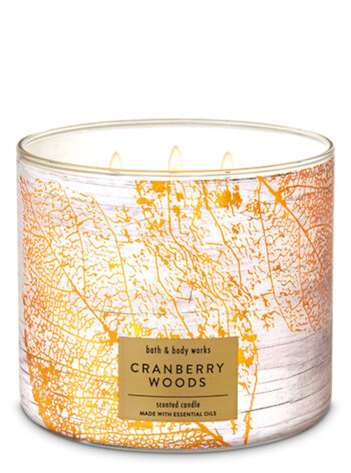 Cranberry Woods 3-Wick Candle