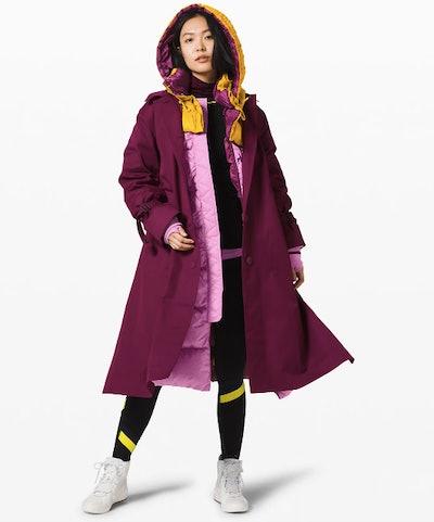 Inner Expanse Infinity Coat lululemon x Roksanda