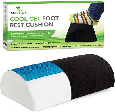 AnboCare Foot Rest Under Desk Cushion