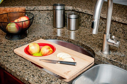 Island Bamboo Over-the-Sink  Cutting Board