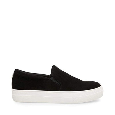 Black Slip-On Sneaker