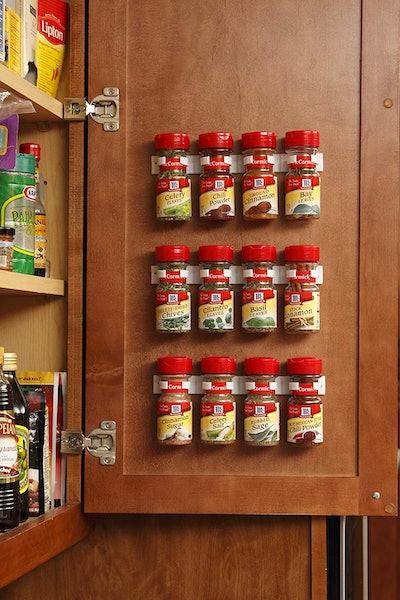 Bellemain Spice Gripper Clip Strips For Plastic Jars