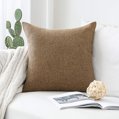 Home Brilliant Decorative Linen Pillow