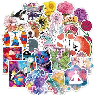 Hopasa Vinyl Stickers (100-Pack)