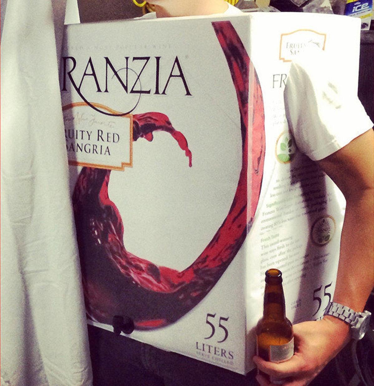 Franzia Box Wine