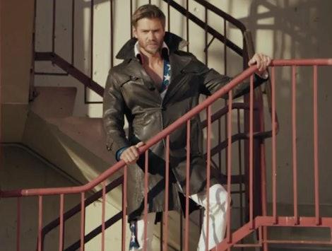 Chad Michael Murray as Edgar on Riverdale.