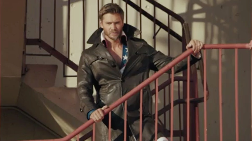 Chad Michael Murray as Edgar on Riverdale.