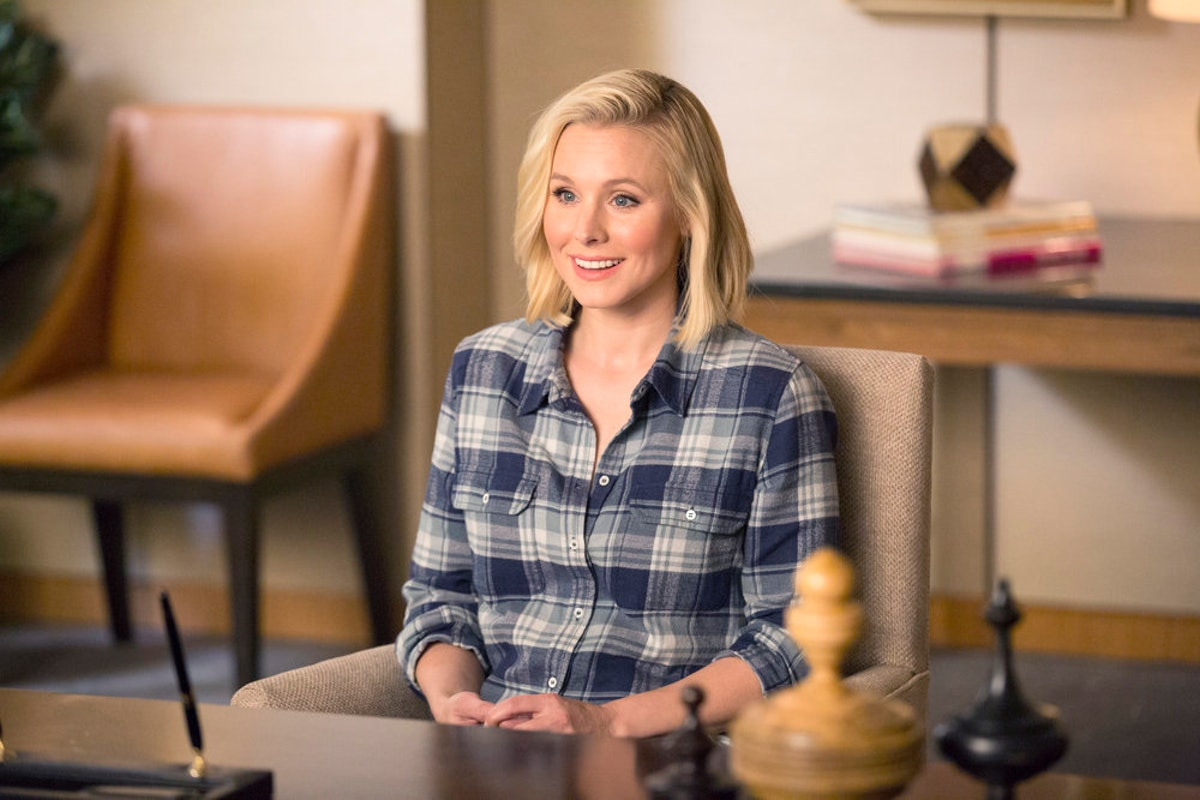 Eleanor Shellstrup smiles as you read this the Good Place theory about the final season