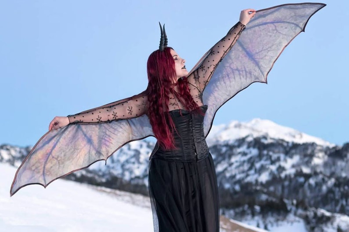 Bat Wings/Dragon Demon Cape