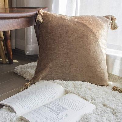 Fancy Homi Decorative Chenille Pillow