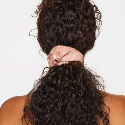 Patent Scrunchie With Chain
