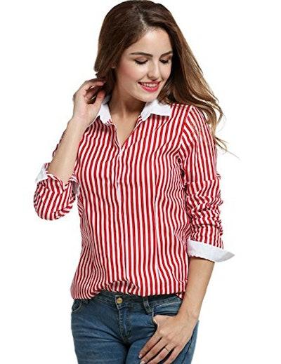ANGVNS Long Sleeved Shirt