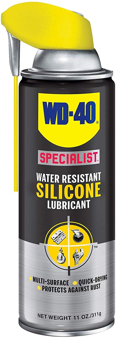 WD-40 Water Resistant Silicone Spray Lubricant, 11 oz.