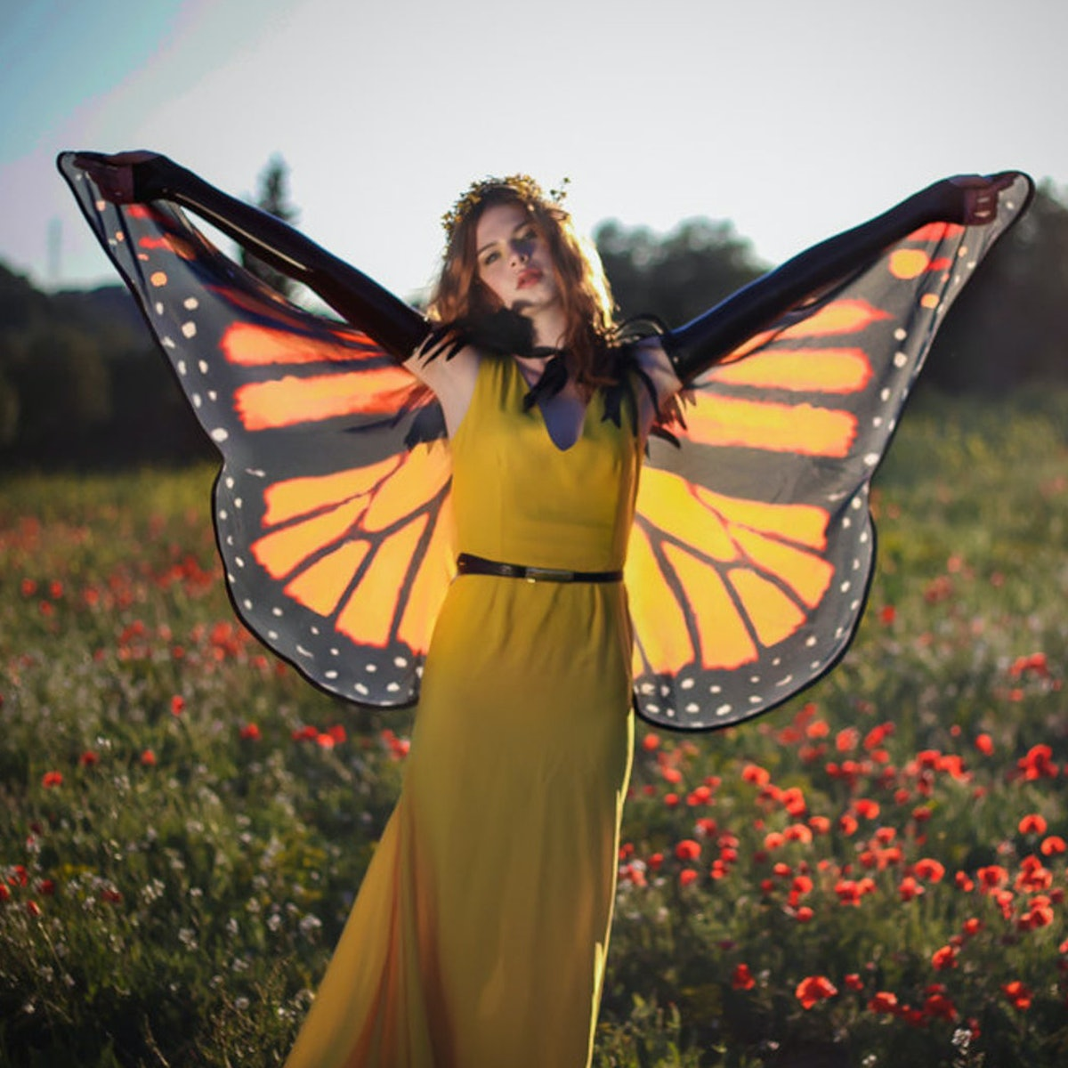 Butterfly Wings Monach Cape