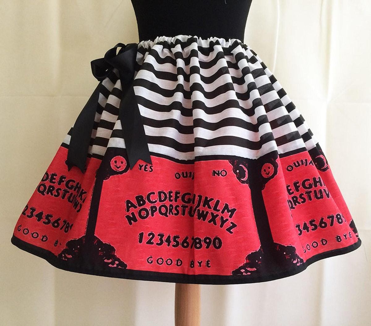 Ouija Board Costume Skirt