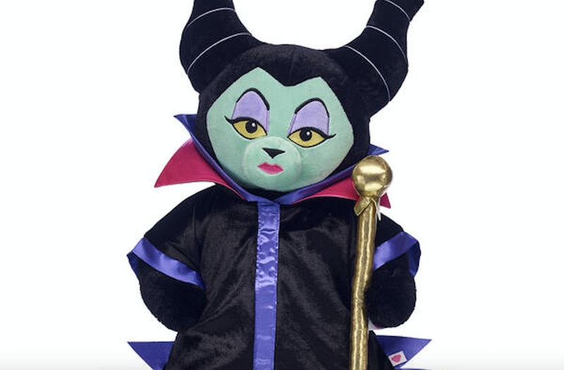 The Maleficent-inspired bear at Build-A-Bear Workshop is perfect for the budding supervillain in your life.