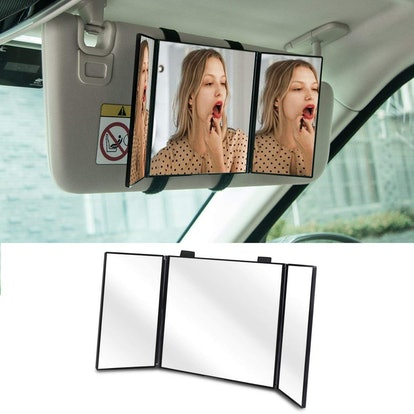Huicocy Car Visor Mirror