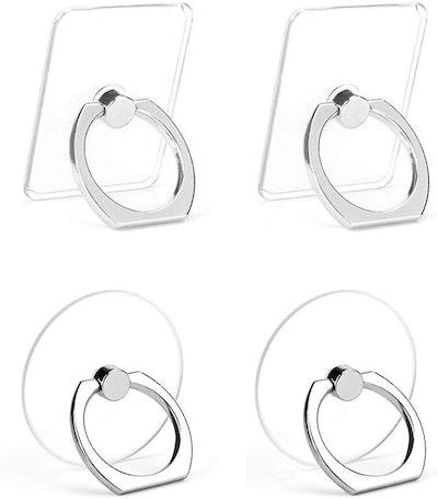 Earea Cell Phone Ring Holder (4-Pack)