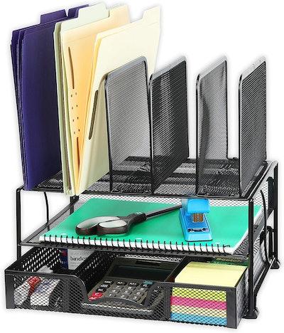 Simple Houseware Mesh Desk Organizer