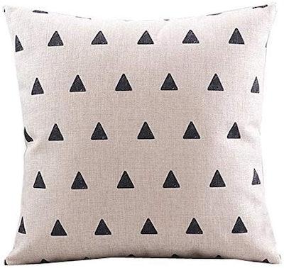 CoolDream Cotton Linen Decorative Pillow