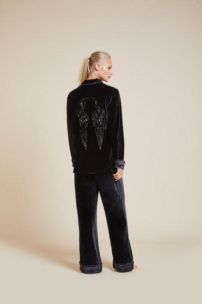 Coco Curse Silk Velvet Pyjama