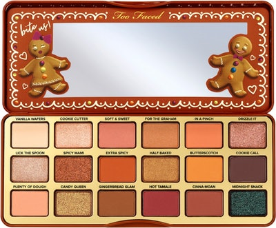 Limited Edition Gingerbread Extra Spicy Eye Shadow Palette