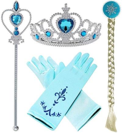 Frozen Princess Elsa Dress up Accessories