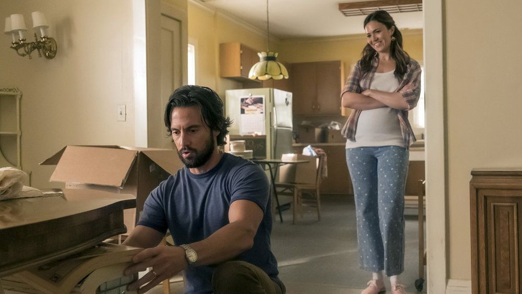 Milo Ventimiglia as Jack, Mandy Moore as Rebecca in This Is Us Season 4