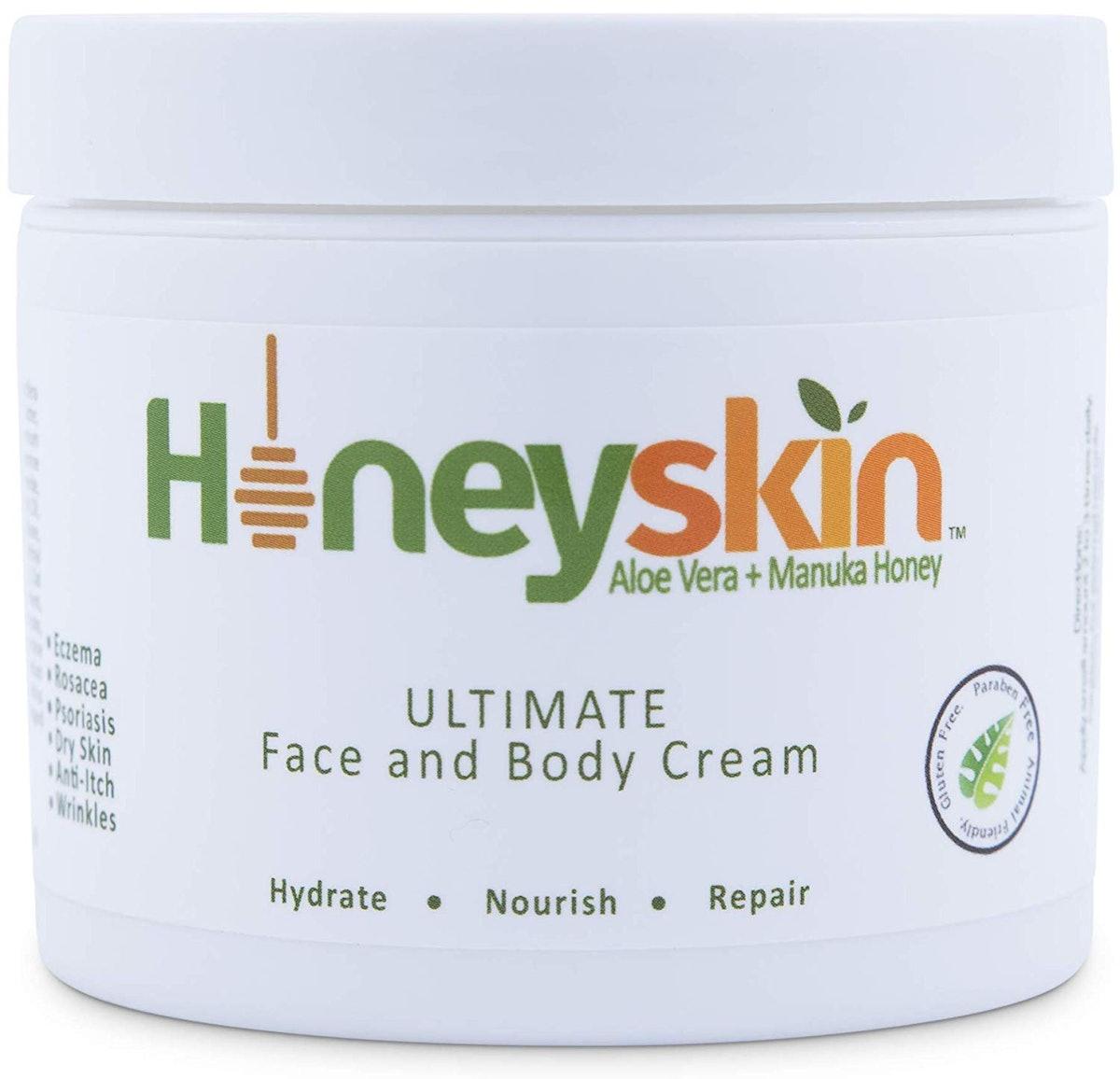 HoneySkin Face & Body Cream Moisturizer