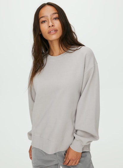 The Oversize Crew Sweatshirt