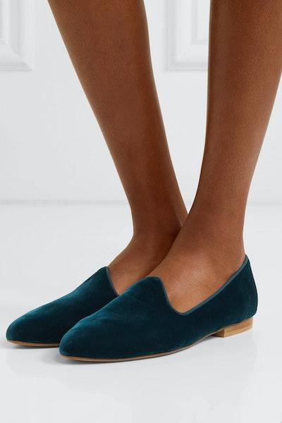 Venetian Velvet Loafers