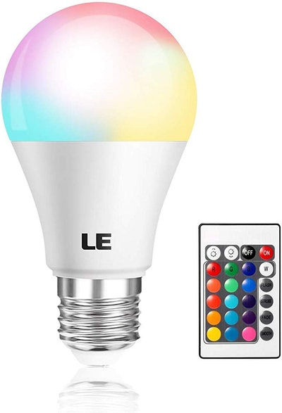 Lighting Ever Color Changing Light Bulb with Remote