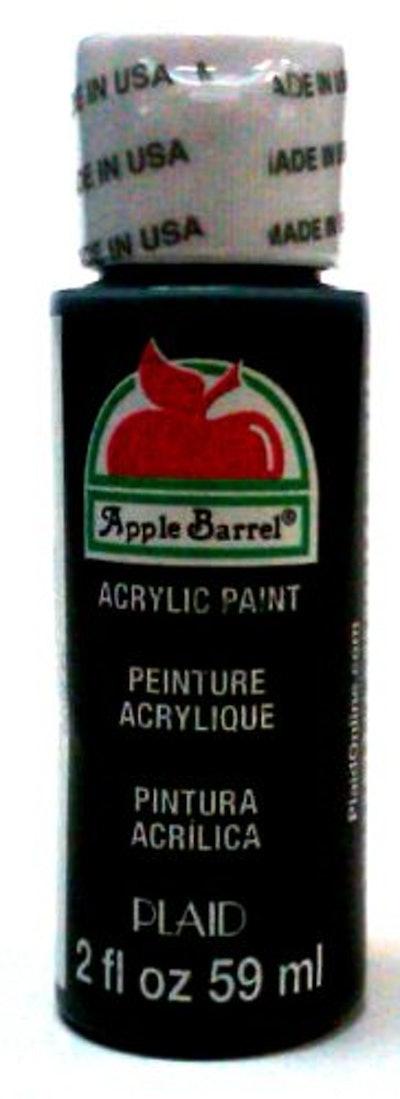 Apple Barrel Black Acrylic Paint