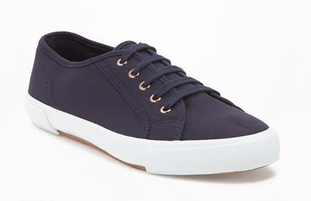 Old Navy Canvas Sneakers For Women Navy