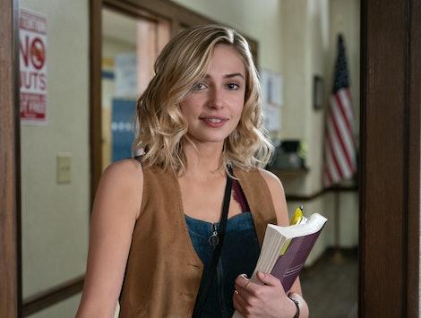Sophie Simnett's character in Daybreak is named Sam Dean.