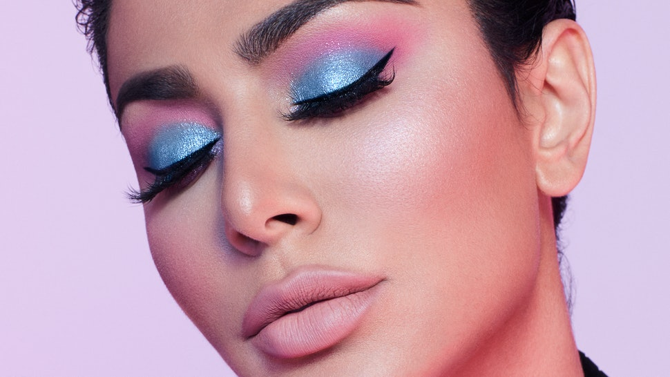 Huda Kattan demonstrates makeup to wear during Mercury Retrograde.