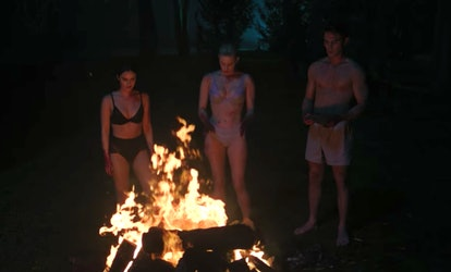 A still of the 'Riverdale' Season 3 finale flash-forward.