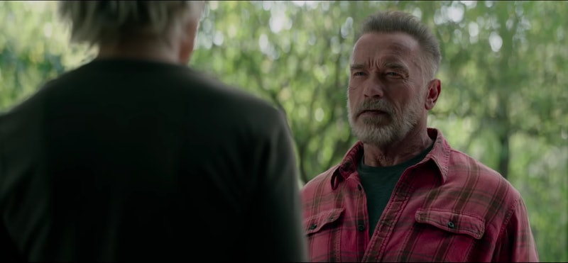 Arnold Schwarzenegger as Carl/T-100 in Terminator: Dark Fate