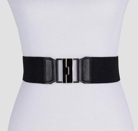 Ava & Viv Women's Plus Size Stretch Belt Black