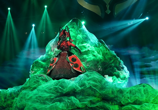 The Ladybug performs on The Masked Singer