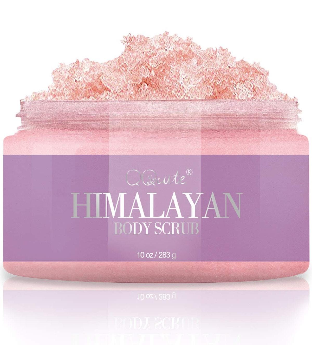 QQcute Naturals Himalayan Salt Body Scrub
