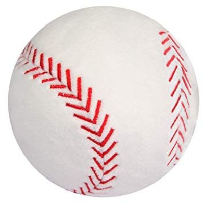 CatchStar Baseball Plush Fluffy Plush Baseball Toy Durable Stuffed Baseball Soft Sports Ball Toy Gift Room Decorations for Kids Boy Infants Toddler Baby Childs 4""