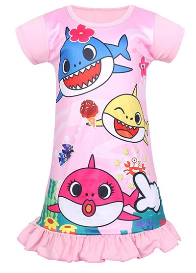 Baby Shark Nightgown