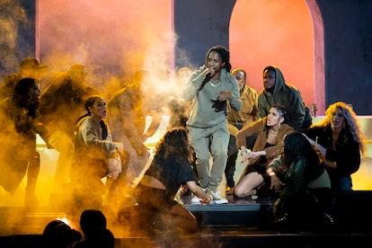 D Smoke  performing on Rhythm + Flow on Netflix.